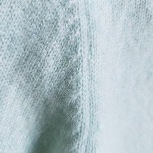 Dkny Sweaters - {DKNY}Fuzzy Mint Green 100% Cashmere Cardigan M